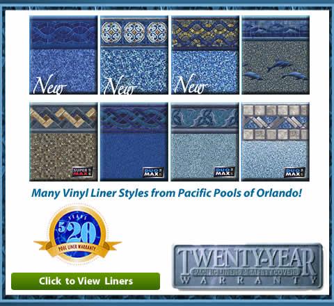 Vinyl Liner Pools Replacement Best Orlando Swimming Pool